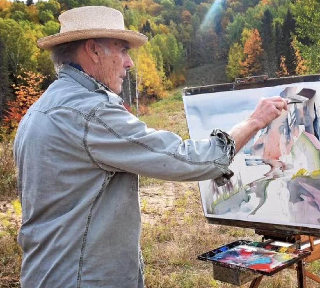 Initiez-vous à l'art de l'aquarelle avec l'artiste réputé Jacques Hébert.
