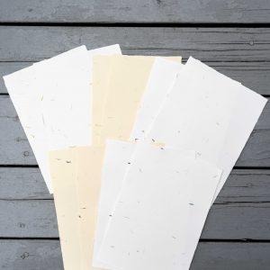 Sélection papiers fleuris